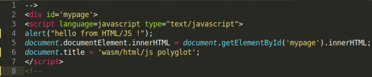 html js payload webassembly wasm module patrick ventuzelo reversing analysis security training